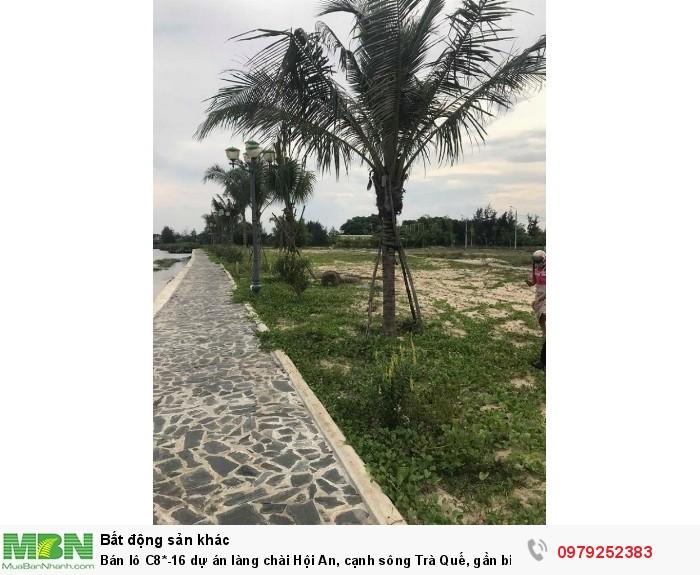 Bán lô C8*-16 dự án làng chài Hội An, cạnh sông Trà Quế, gần biển An Bàng