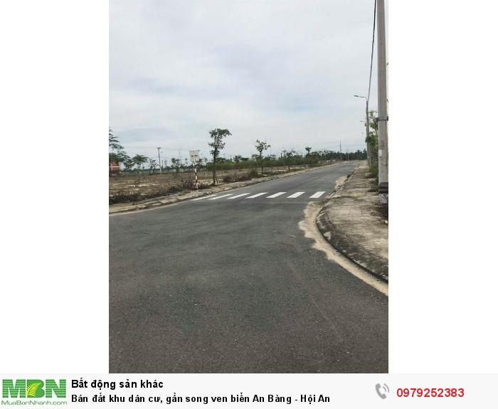 Bán đất khu dân cư, gần song ven biển An Bàng - Hội An