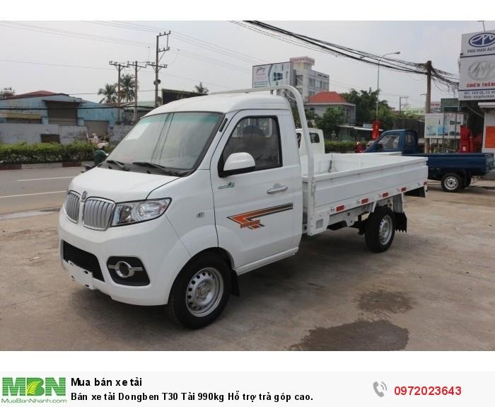 Bán xe tải Dongben T30 Tải 990kg Hỗ trợ trả góp cao.