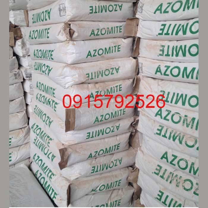 AZOMITE - Khoáng khai mỏ tự nhiên cung cấp khoáng đa vi lượng cần thiết cho tôm