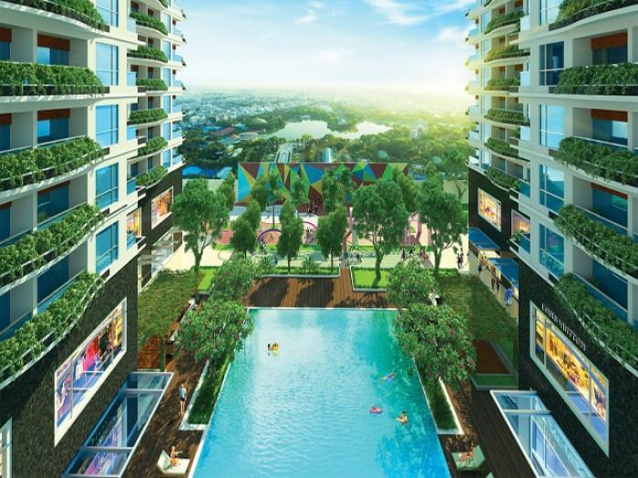 Bán căn hộ Sai Gon South Plaza 1,3 tỷ / 1pn full nội thất tất tầng tật