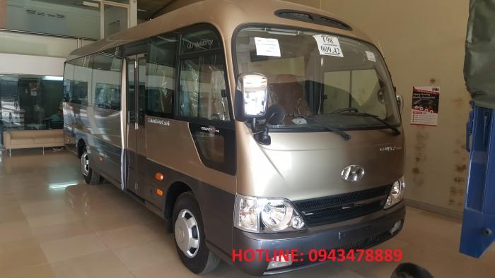 Bán xe Hyundai County thân dài Đồng Vàng