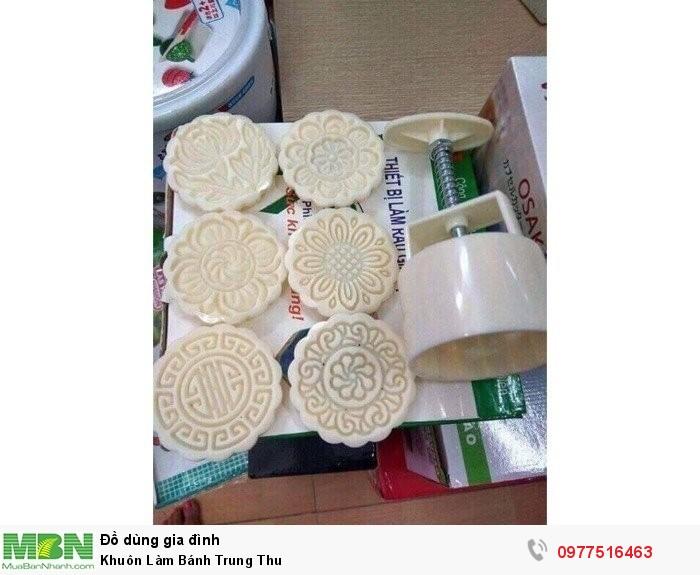 Khuôn Làm Bánh Trung Thu1