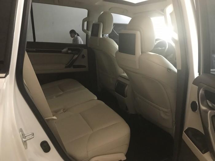 Bán Lexus GX460,màu trắng, sản xuất 2015, đăng ký 2016,bản full,xe siêu mới,biển Hà Nội