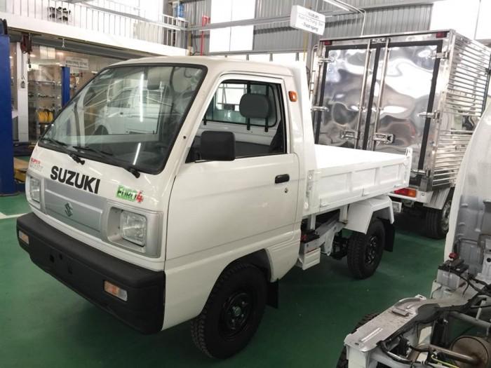 Xe ben Suzuki 500kg thùng cao 2 tất 6 tặng 100% thuế trước bạ và gói quà tặng 5 triệu 4