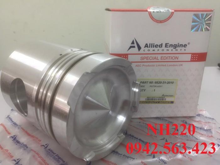 Phụ tùng động cơ – bộ hơi NH220 lắp D65-6,D60-7, D85-12
