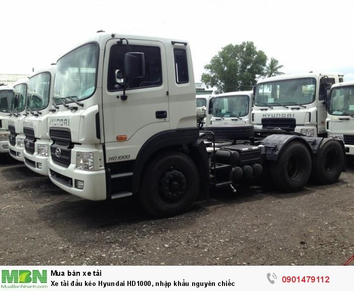 Xe tải đầu kéo Hyundai HD1000, nhập khẩu nguyên chiếc 0