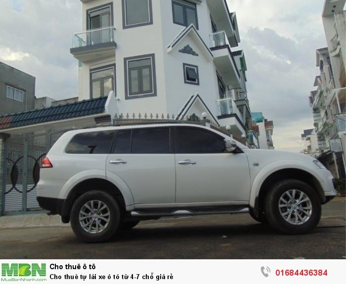 Cho thuê tự lái xe ô tô từ 4-7 chỗ giá rẻ
