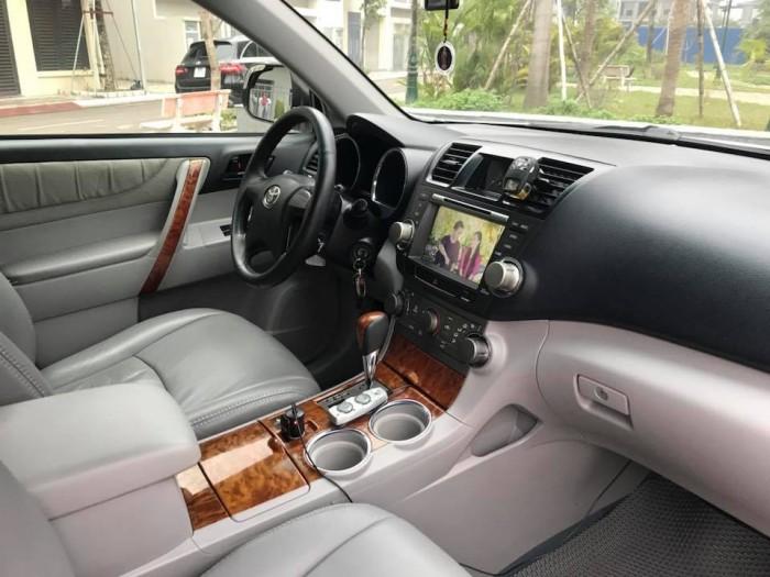 HIGHLANDER V6 3.5 nhập Mỹ, sản xuất T10/2007. Đăng ký lần đầu 2008