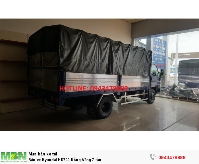 Bán xe Hyundai HD700 Đồng Vàng 7 tấn 0