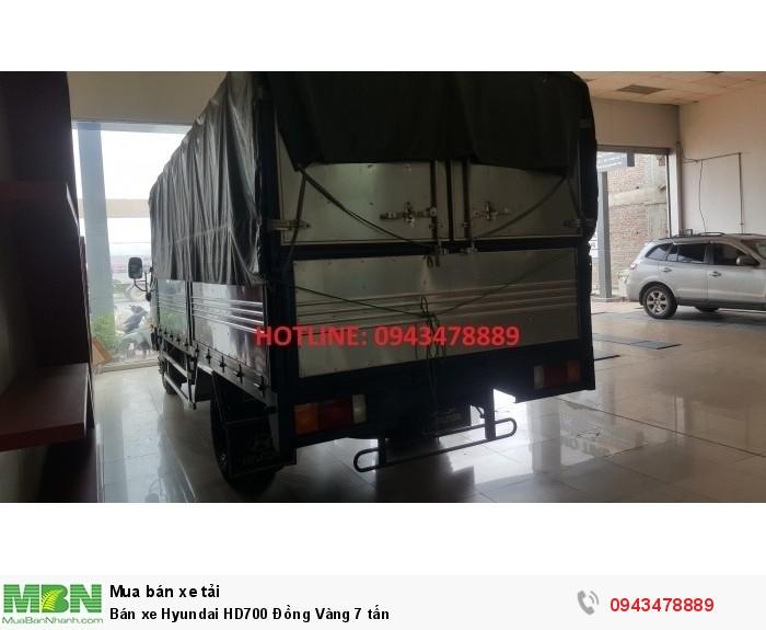 Bán xe Hyundai HD700 Đồng Vàng 7 tấn