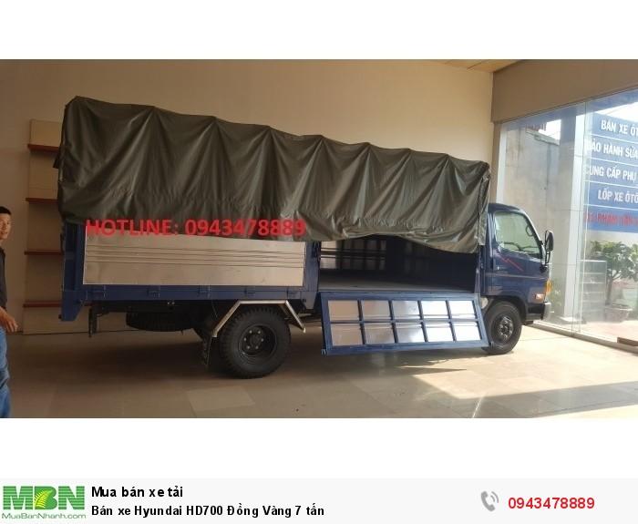 Bán xe Hyundai HD700 Đồng Vàng 7 tấn 4