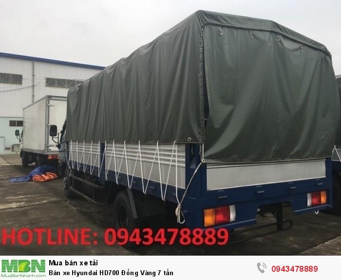 Bán xe Hyundai HD700 Đồng Vàng 7 tấn 9