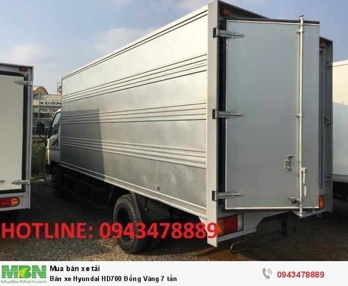 Bán xe Hyundai HD700 Đồng Vàng 7 tấn 12