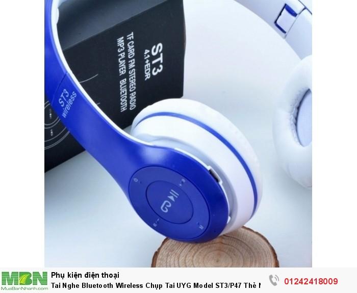 Tai Nghe Bluetooth Wireless Chụp Tai UYG Model ST3/P47 Thẻ Nhớ4