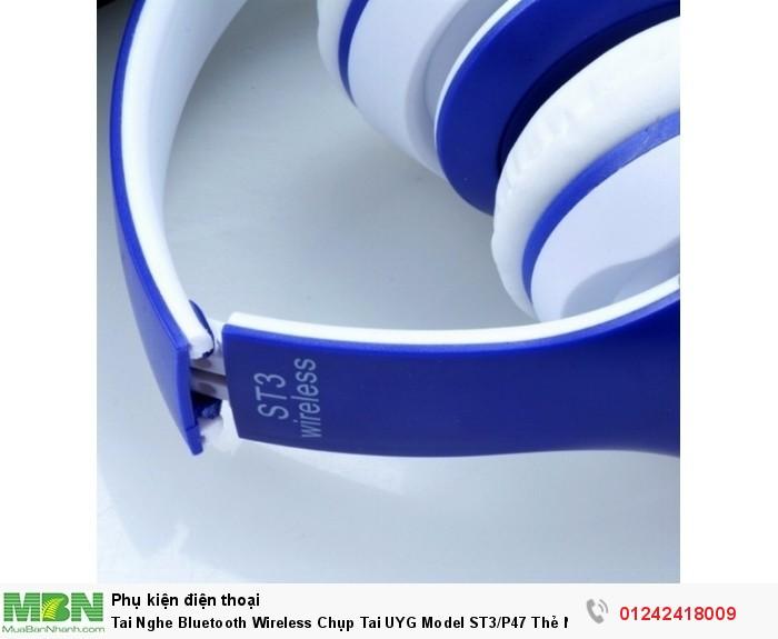 Tai Nghe Bluetooth Wireless Chụp Tai UYG Model ST3/P47 Thẻ Nhớ5