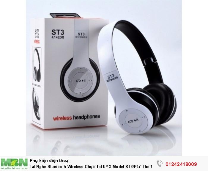 Tai Nghe Bluetooth Wireless Chụp Tai UYG Model ST3/P47 Thẻ Nhớ7