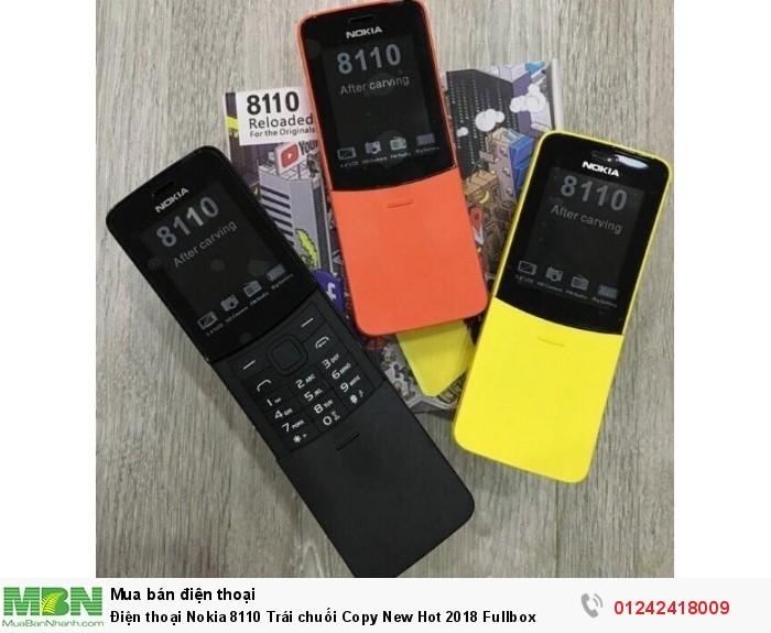 Điện thoại Nokia 8110 Trái chuối Copy New Hot 2018 Fullbox0