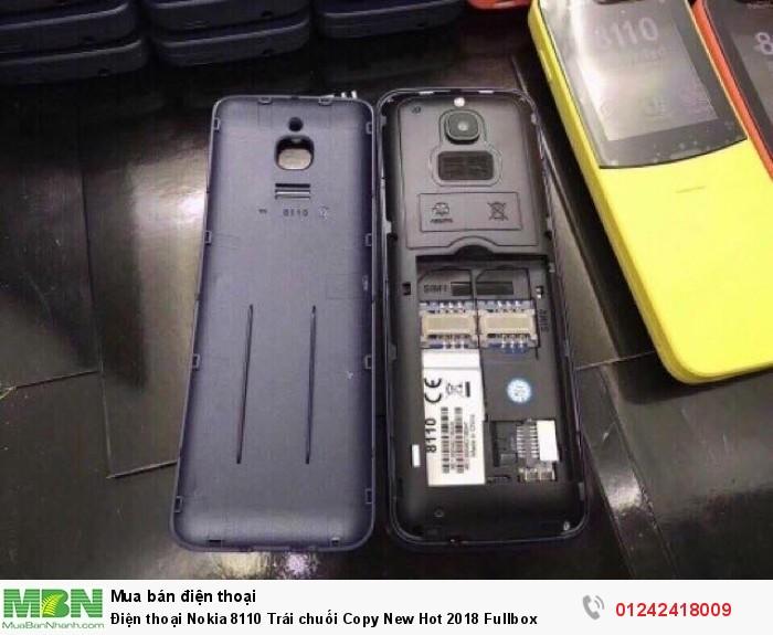 Điện thoại Nokia 8110 Trái chuối Copy New Hot 2018 Fullbox1