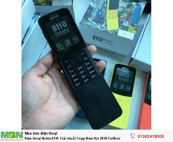 Điện thoại Nokia 8110 Trái chuối Copy New Hot 2018 Fullbox3