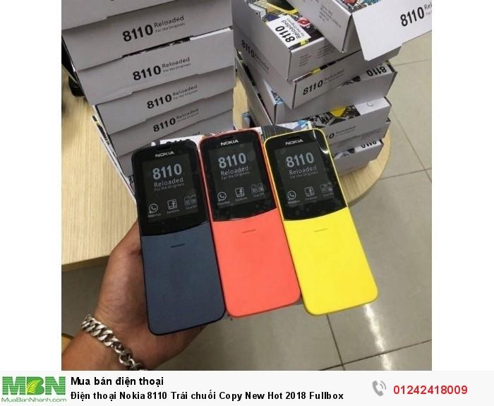 Điện thoại Nokia 8110 Trái chuối Copy New Hot 2018 Fullbox4