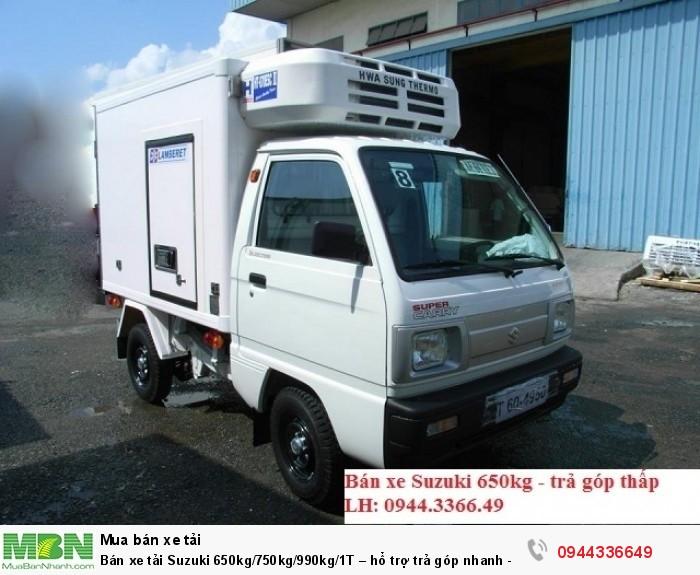 Bán xe tải Suzuki 650kg/750kg/990kg/1T – hổ trợ trả góp nhanh – giá tốt 2018/uy tín,chất lượng