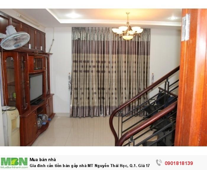 Gia đình cần tiền bán gấp nhà MT Nguyễn Thái Học, Q.1