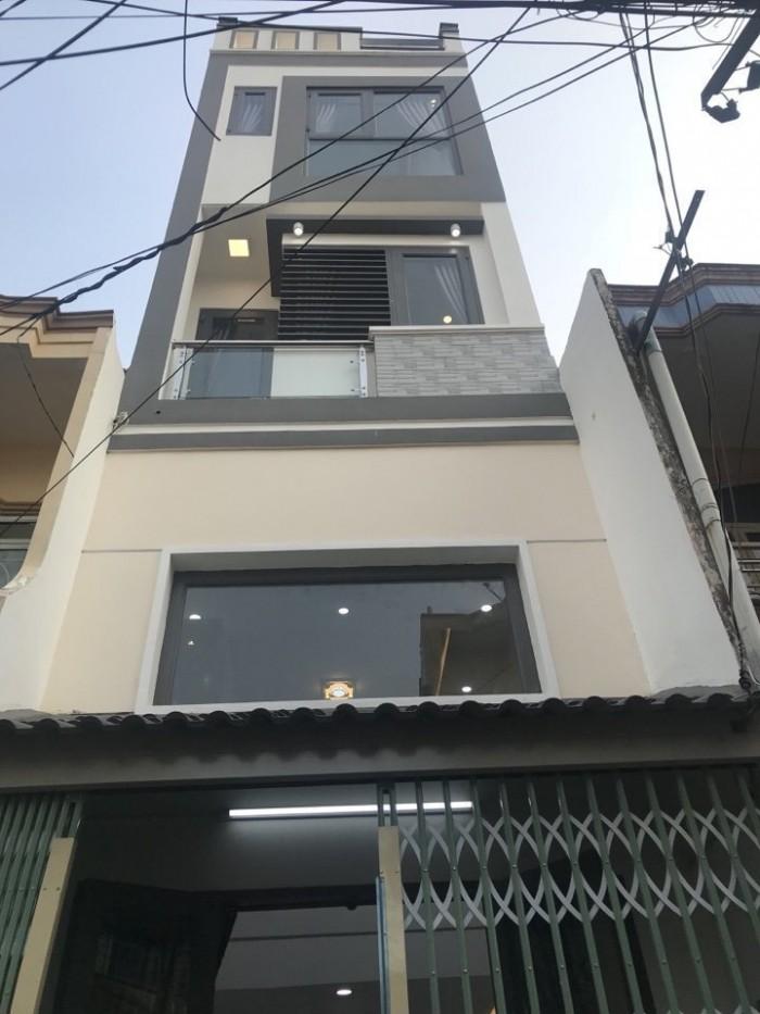 Bán nhà mới 100% tại đường Lê Văn Thọ Gò Vấp