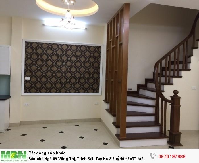 Bán nhà Ngõ 89 Võng Thị, Trích Sài, Tây Hồ 8.2 tỷ 50m2x5T ôtô 7chỗ vào nhà