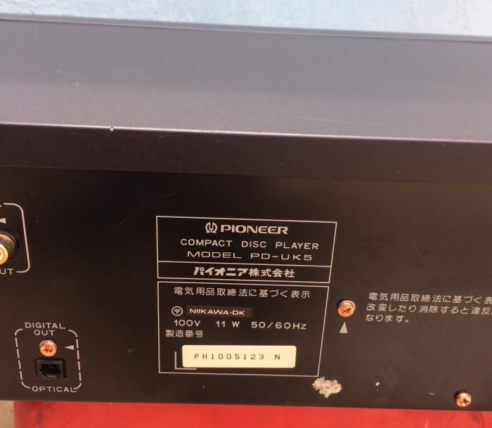 CD pioneer UK5, Japan