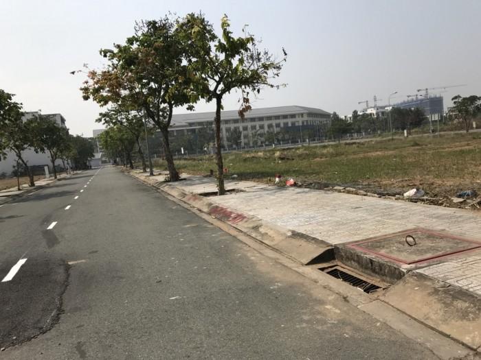 Lô Mt 70m2, SHR, KDC Phú Nhuận, Quận 9, Thổ Cư 100%