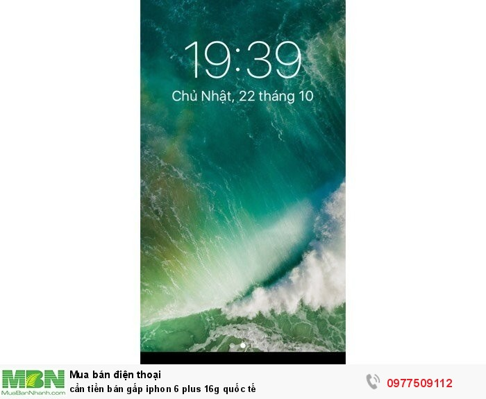 Cần tiền bán gấp Iphone 6 plus 16g quốc tế2