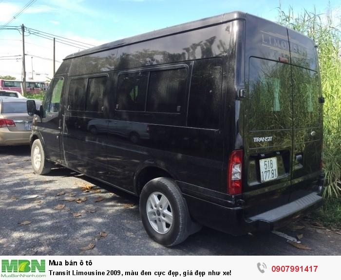 Transit Limousine 2009, màu đen cực đẹp, giá đẹp như xe!