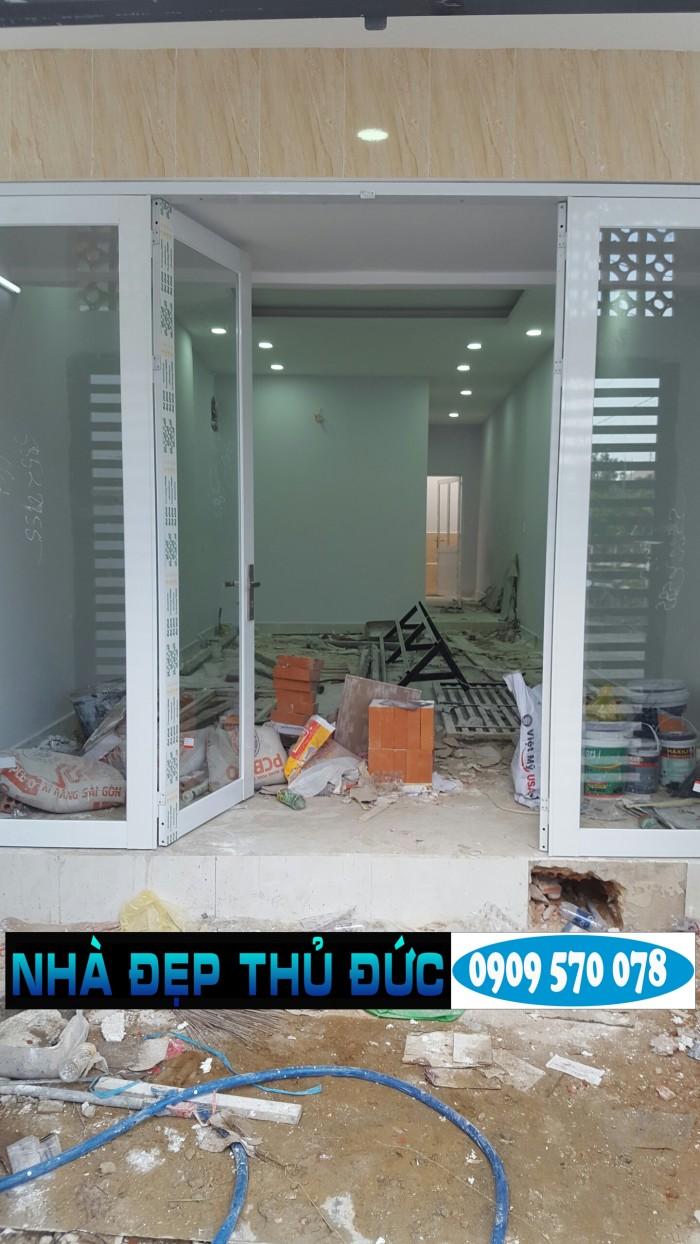 Bán nhà cấp 4 mới xây sửa đường hẻm xe hơi Tô Ngọc Vân Thủ Đức giá 2 tỷ 250 triệu thương lượng nhẹ