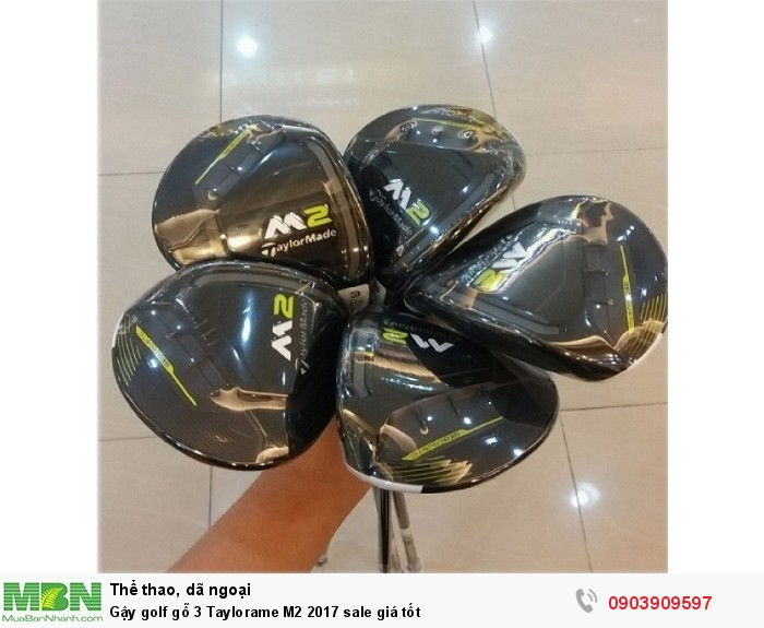 Gậy golf gỗ 3 Taylormade M2 2017 sale giá tốt