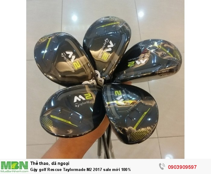 Gậy golf Rescue Taylormade M2 2017 sale mới 100%0