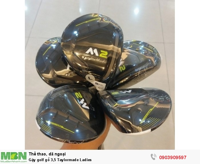 Gậy golf gỗ 3,5 Taylormade Ladies