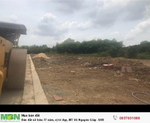 Bán đất sở hữu 77 năm, vị trí đẹp, MT Võ Văn Kiệt -SHR