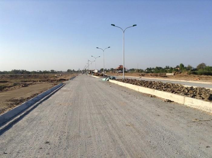 Đất nền khu dân cư mặt tiền Quốc lộ 50-giáp ranh Bình Chánh