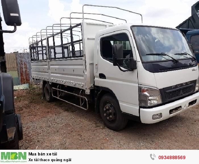 Xe tải thaco quảng ngãi