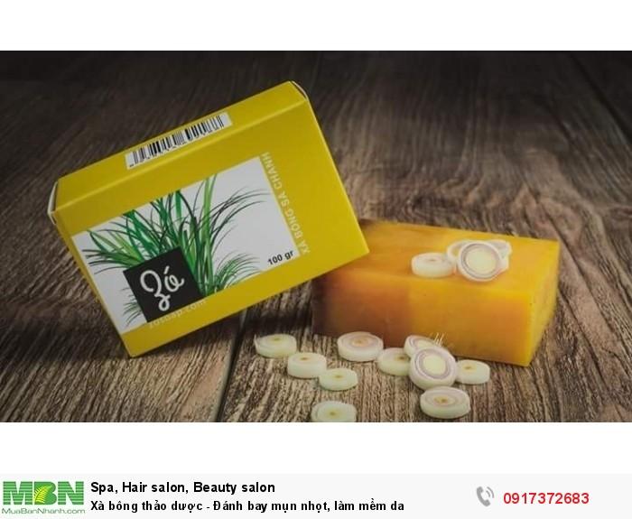 Xà bông thảo dược - Đánh bay mụn nhọt, làm mềm da