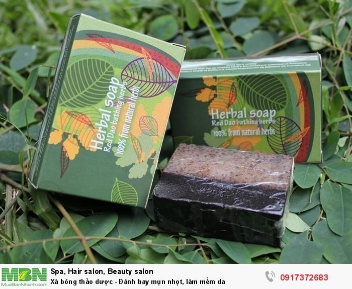 Xà bông thảo dược ( tinh dầu tràm gió)3
