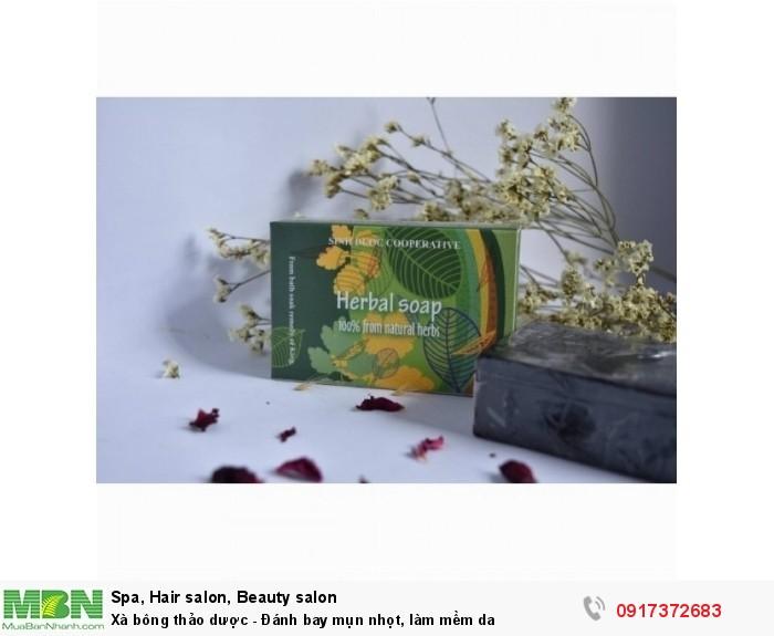 Xà bông thảo dược ( tinh dầu tràm gió)5