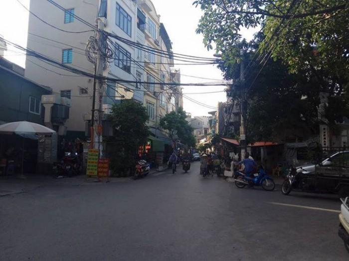 Bán nhà mặt ngõ Gốc Đề, Hoàng Mai, Vỉa hè rộng Kinh doanh ác liệt ngày đêm