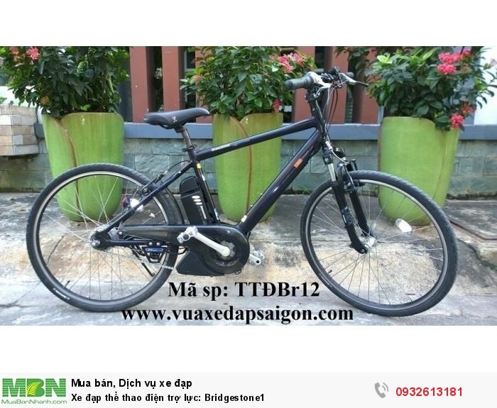 Xe đạp thể thao điện trợ lực: Bridgestone1