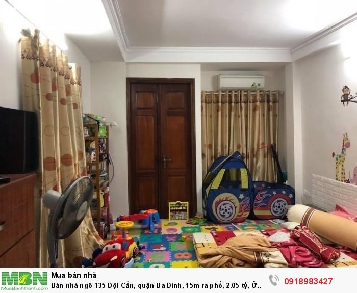 Bán nhà ngõ 135 Đội Cấn, quận Ba Đình, 15m ra phố