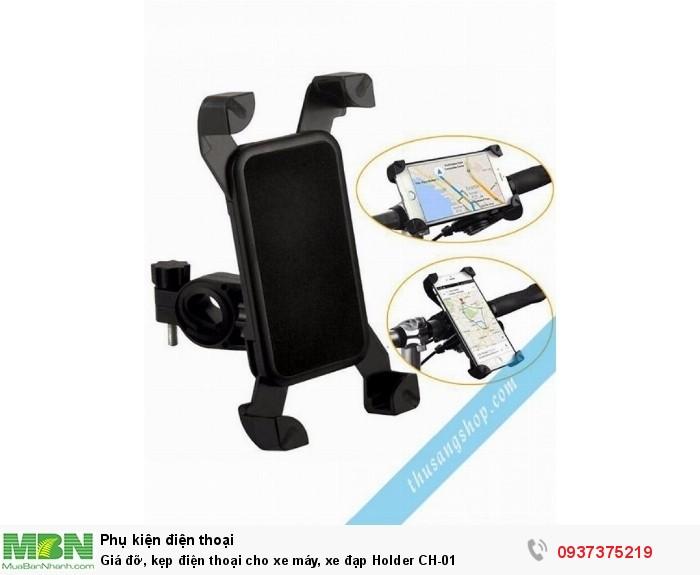 Giá đỡ, kẹp điện thoại cho xe máy, xe đạp Holder CH-010