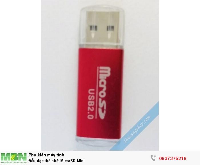 Đầu đọc thẻ nhớ MicroSD Mini0
