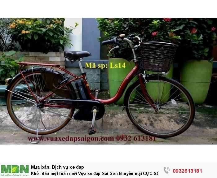 Khởi đầu một tuần mới Vựa xe đạp Sài Gòn khuyến mại CỰC SỐC. Xe đạp trợ lực điện : Pas Natura 2014