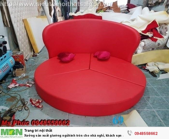 Xưởng sản xuất giường ngủ hình tròn cho nhà nghỉ, khách sạn - nội thất Kim Anh sài gòn15